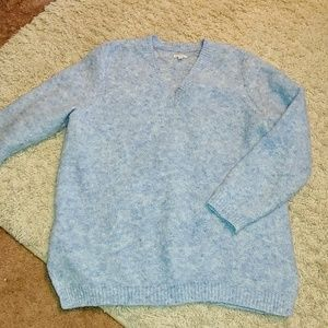 Sonoma Long Fuzzy Sweater 1X